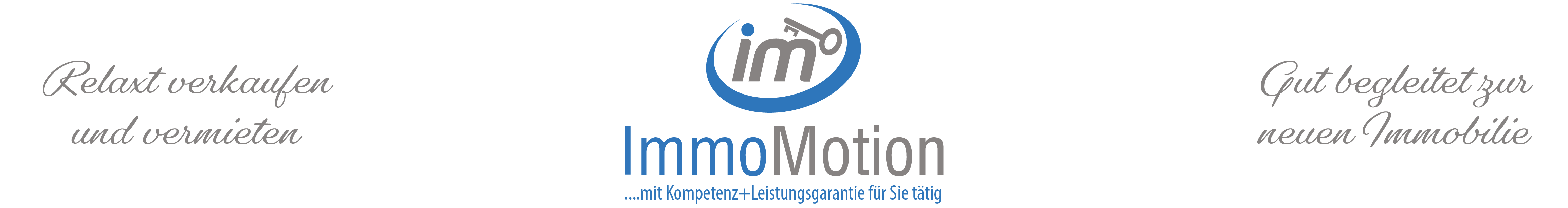 ImmoMotion –  Profi Vermittlung+3D Marketing Logo